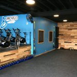 Commercial Remodel with Pallet Wall